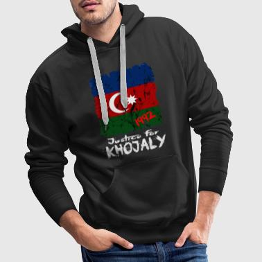 Justice for Khojaly - Aserbaidschan - Männer Premium Hoodie