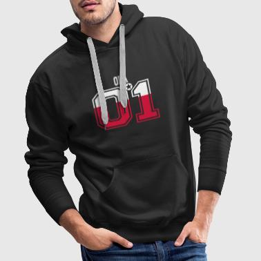 POLAND POLSKA 01 KING QUEEN BIRTHDAY Ola - Men's Premium Hoodie