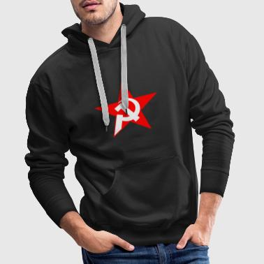 hammer and sickle - Men's Premium Hoodie