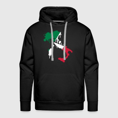 Map of Italy Design - Men's Premium Hoodie