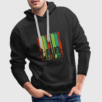Christmas Party Dancing.Dabbing.Black Lives Matter - Men's Premium Hoodie