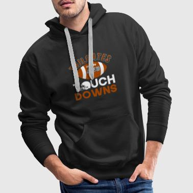 Tailgates And Touchdowns - Men's Premium Hoodie