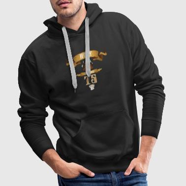 Holy Poop You are 75 Funny Birthday Gift - Mannen Premium hoodie