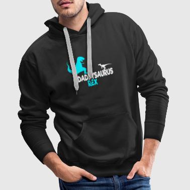 Daddysaurus Father's Day Father's Day Dad Gift - Men's Premium Hoodie