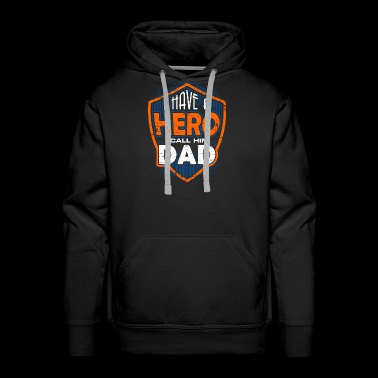 Dad Dad Dad Held Gift Father's Day Birthday - Men's Premium Hoodie