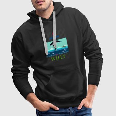 5 AGAINST WILLY - Men's Premium Hoodie