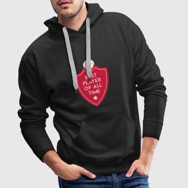 BEST PLAYER OF ALL TIME SHIELD BASKETBALL - Männer Premium Hoodie
