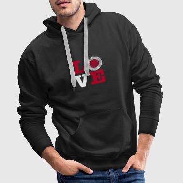 JAPAN HEART - Men's Premium Hoodie