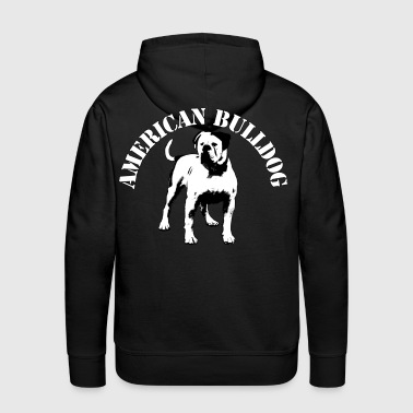 American Bulldog - You Never Walk Alone - Männer Premium Hoodie
