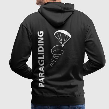Paragliding is my life gift - Men's Premium Hoodie