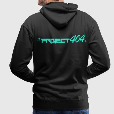 project404 final teal - Men's Premium Hoodie