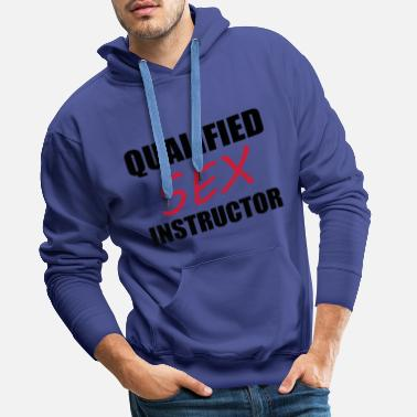 Rude Sex Instructor - Mannen Premium hoodie