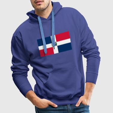 The Dominican Republic flag - Men's Premium Hoodie