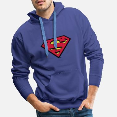 Sweat-shirt pour enfants Superman S-Shield en flex - Sweat-shirt à capuche Premium pour hommes