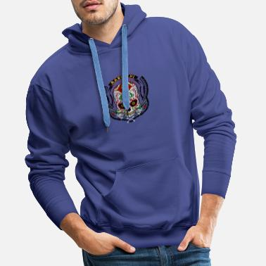 Conception shirt, conception, t-shirt - Sweat-shirt à capuche Premium pour hommes