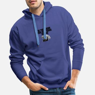 Personality Be the Person - Men's Premium Hoodie