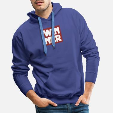 Winner Winner - Be a winner - Men's Premium Hoodie