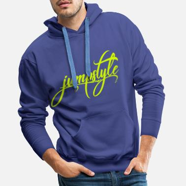 Jumpstyle jumpstyle - Premium hettegenser for menn