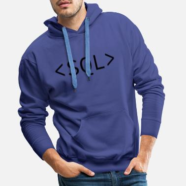 Website SQL - Men's Premium Hoodie
