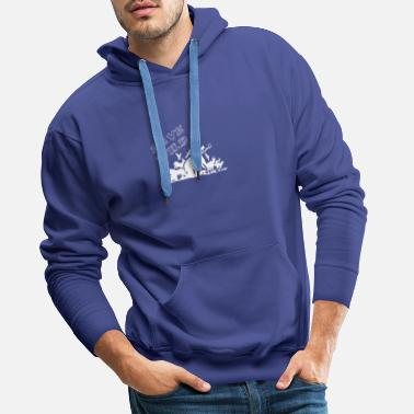 Wilderness Protect the wilderness - gift for animal rights activists - Men's Premium Hoodie