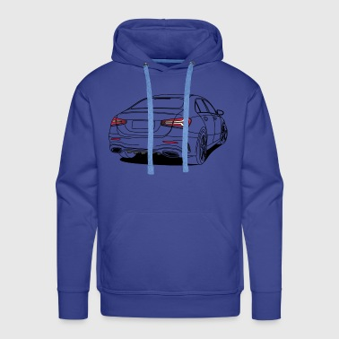 Sports Saloon Outline - Men's Premium Hoodie