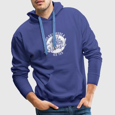 Long Island Ice Tea Drink alcoholcocktail - Mannen Premium hoodie