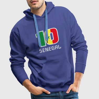 Senegal 2018 Soccer National Team Fan Ball Gift - Men's Premium Hoodie