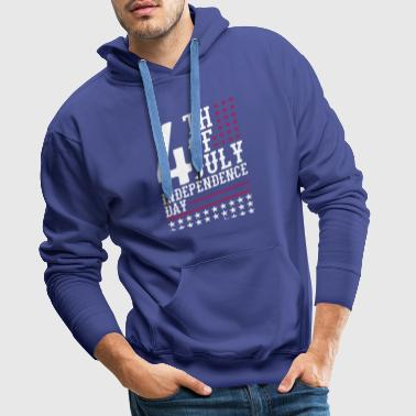 USA Independence day - celebration - Men's Premium Hoodie