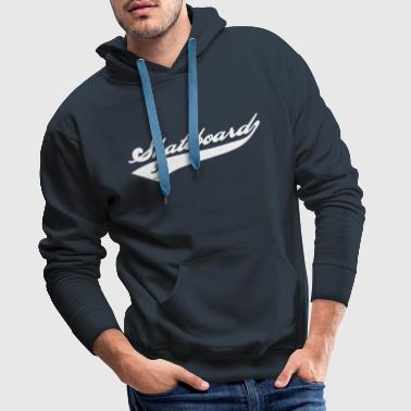 Skateboard Team - Sweat-shirt à capuche Premium pour hommes