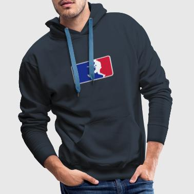 rockleague - Sweat-shirt à capuche Premium pour hommes