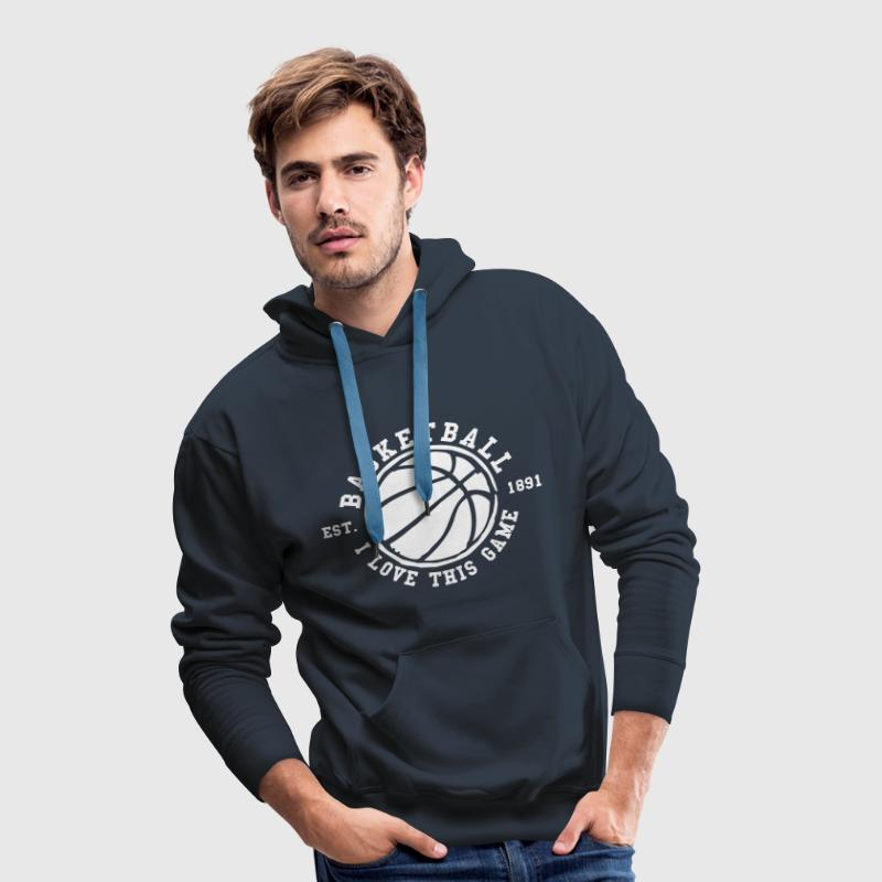 Basketball I Love This Game - Männer Premium Hoodie