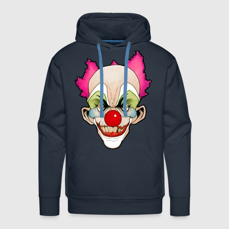 clown - Sweat-shirt à capuche Premium pour hommes
