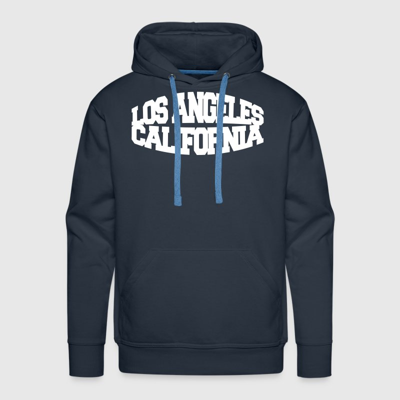los angeles california - Sweat-shirt à capuche Premium pour hommes