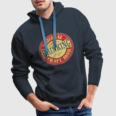 Original Craft Beer - Drinking - pub crawl 2018 - Männer Premium Hoodie