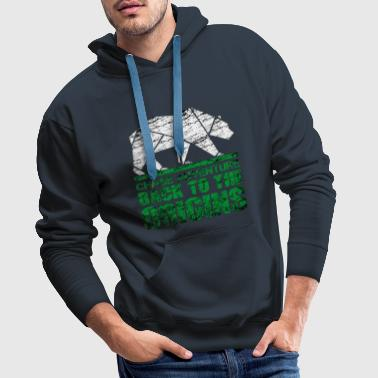 Chase the Adventure - Men's Premium Hoodie