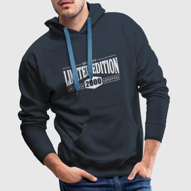 Limited Edition 2000 - Men's Premium Hoodie