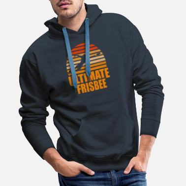 Frisbee Retro Ultimate Frisbee - Men's Premium Hoodie