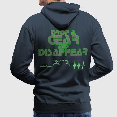 drop a gear Streetfighter 3Color - Männer Premium Hoodie