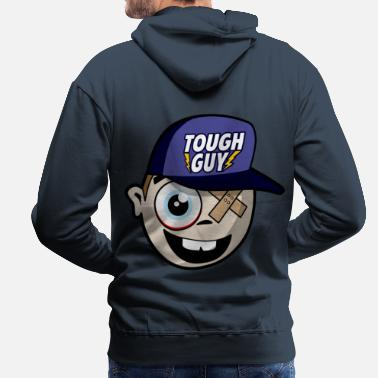 Tough Guy Tough Guy - Comic - Men's Premium Hoodie