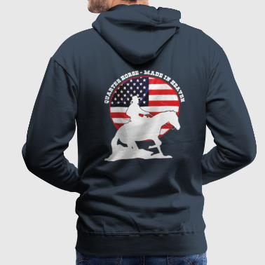 Quarter Horse -Made in heaven - Männer Premium Hoodie