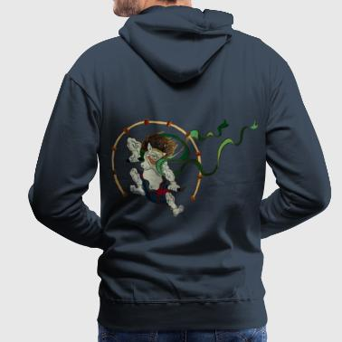 Raijin - God of Thunder - Men's Premium Hoodie
