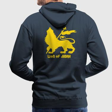 Lion of Judah - Sweat-shirt à capuche Premium pour hommes
