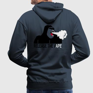 Release the Vape - Sweat-shirt à capuche Premium pour hommes