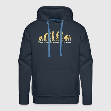 poker_evolution - Sweat-shirt à capuche Premium pour hommes