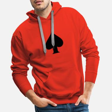 Ace Of Spades Spade - Men's Premium Hoodie