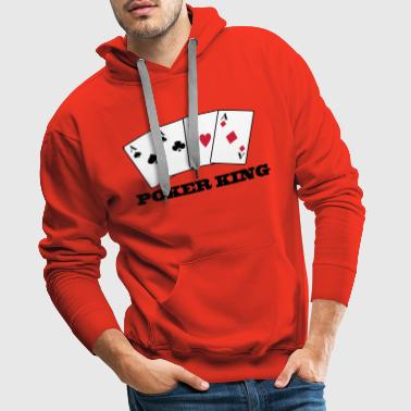 Aces Poker King - Men's Premium Hoodie