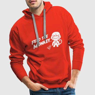 Feed The Monkey - Men's Premium Hoodie