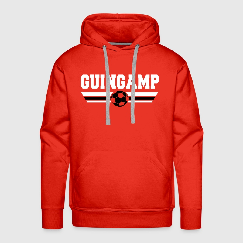 Guingamp Football Club - Sweat-shirt à capuche Premium pour hommes