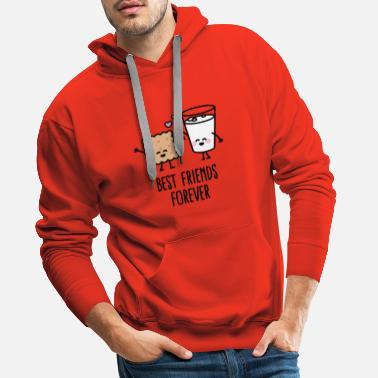 Best Friends Best friends forever - Sweat-shirt à capuche Premium pour hommes
