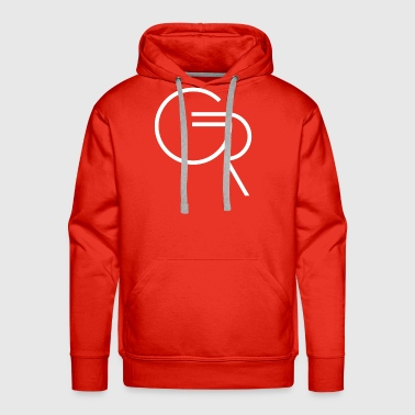 GR Logo White Native - Men's Premium Hoodie